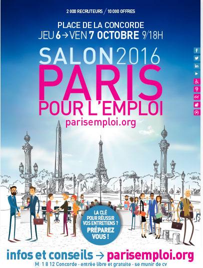 PARIS POUR L'EMPLOI 2016