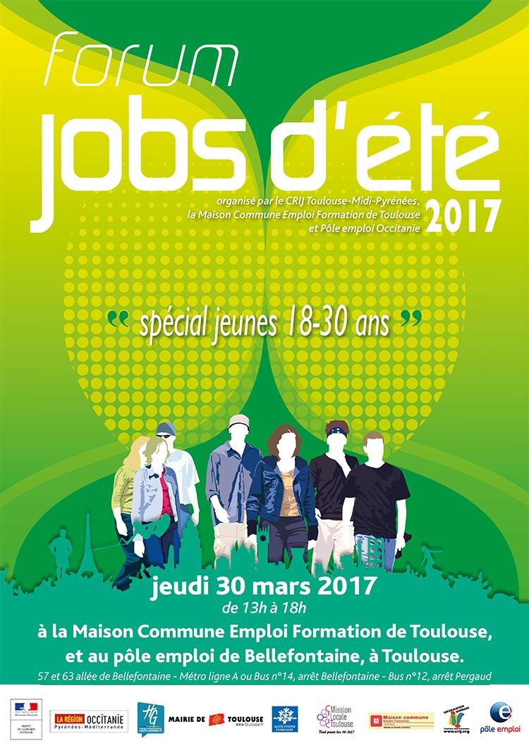 Forum jobs d'été, organisé par le CRIJ Toulouse-Midi-Pyrénées