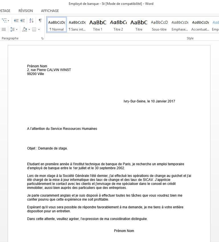 Caf De Paris Offre Job D Ete