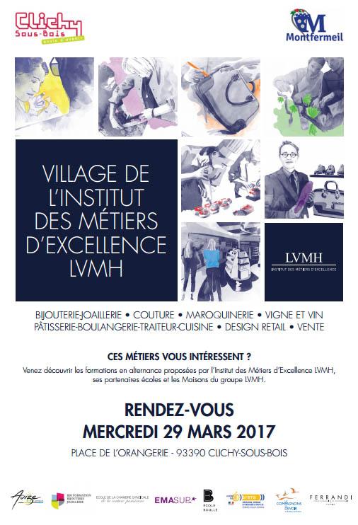 Village de l'Institut des métiers d'excellence LVMH