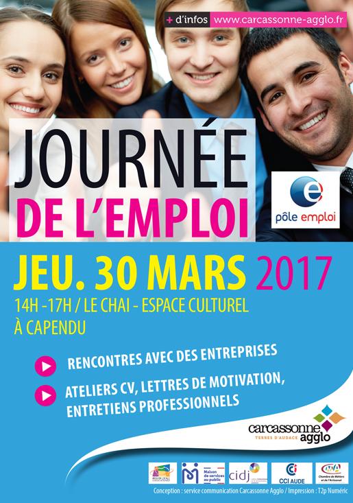 JOURNÉE DE L'EMPLOI AU CHAI DE CAPENDU