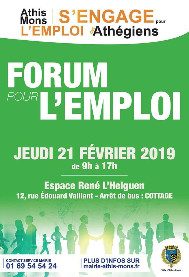 Forum pour l'Emploi d'Athis-Mons